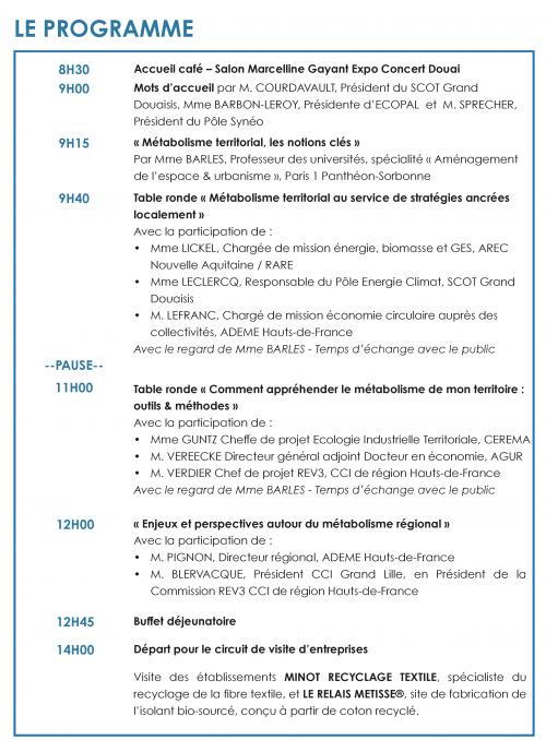 Programme definitif EIT 2021